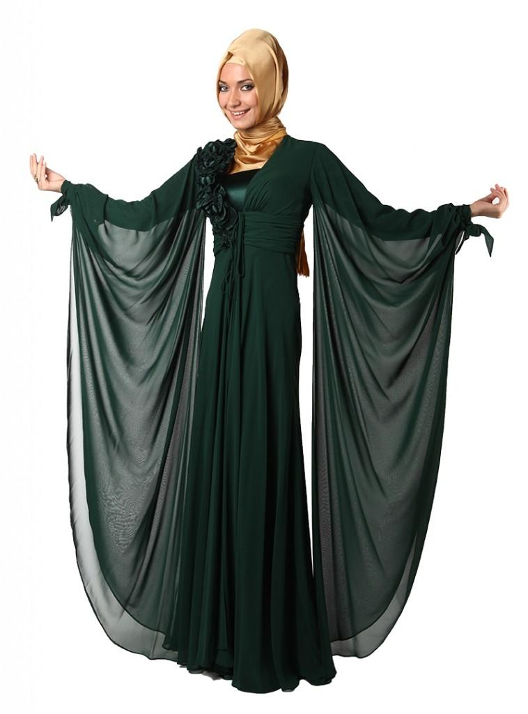 2fa05aac133d3 kışlık Tesettür Abiye Elbise - Gelinlik Modelleri